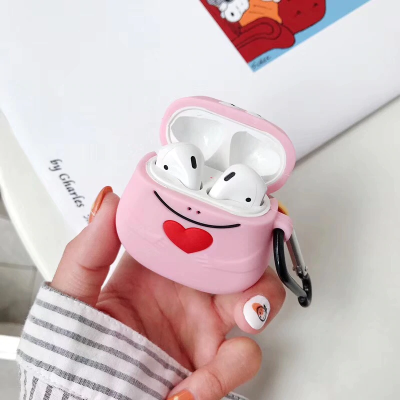 Barbapapa Heart Airpod Case Cover