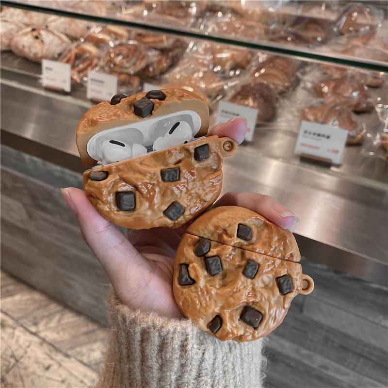 Chocolate Chip Cookie Airpod Case Cover (2 Colours)
