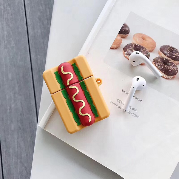 Hot Dog Airpod Case Cover