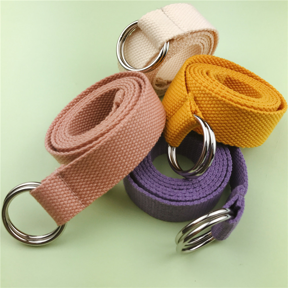 Flower Patch Woven Ring Belt (4 Colours)