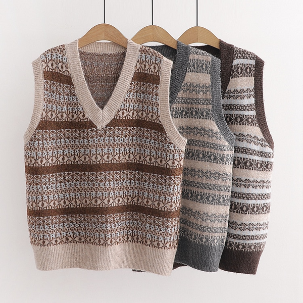 Milton Sweater Vest (3 Colours)