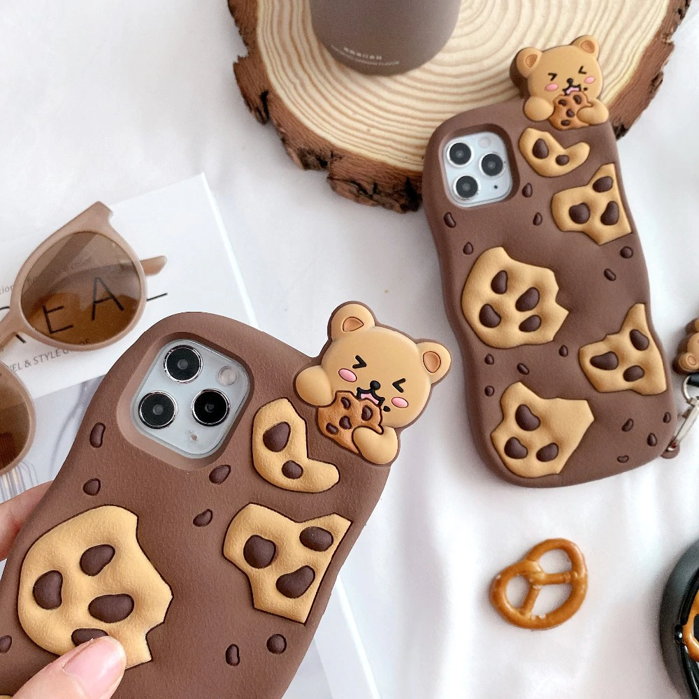 Cookie Bear iPhone Case