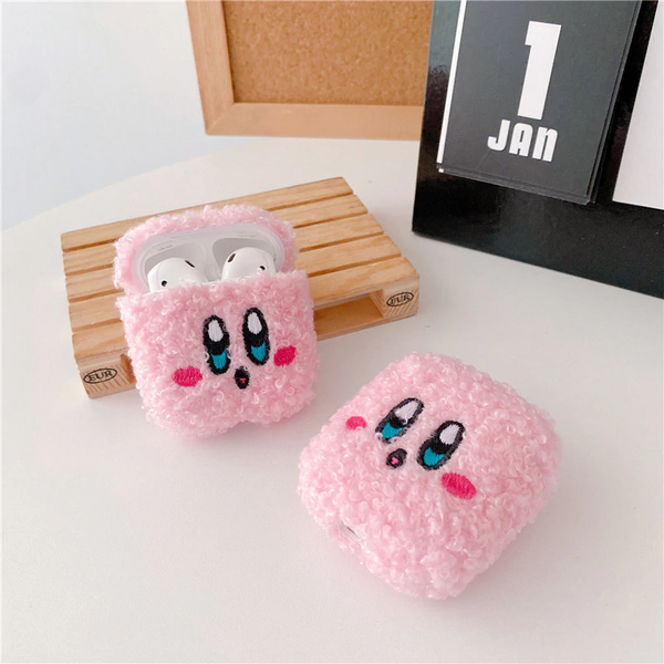 Soft Kirby Airpod Case Cover