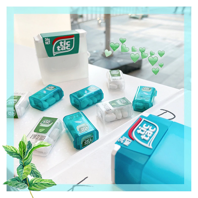 Tic Tac Candy Airpod Case Cover (2 Colours)