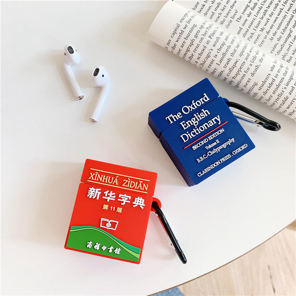 Dictionary Airpod Case Cover (2 Designs)