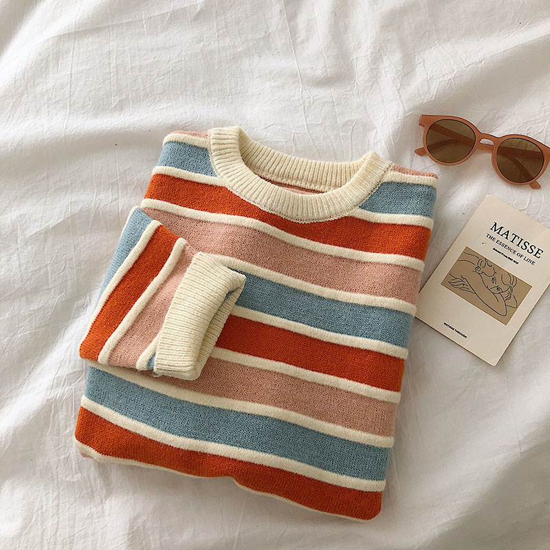 Paulie Stripe Knit Jumper (3 colours)