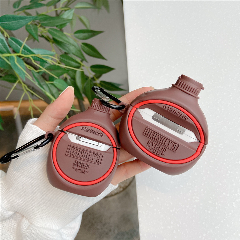 Chocolate Syrup Airpod Case Cover