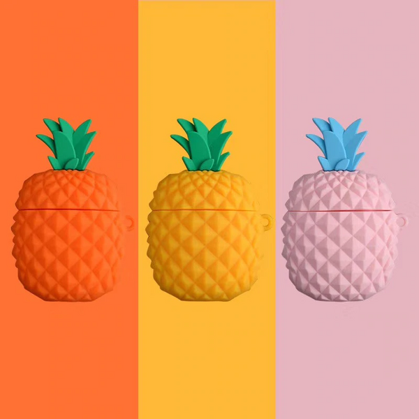 Pineapple Airpod Case Cover (3 Colours)