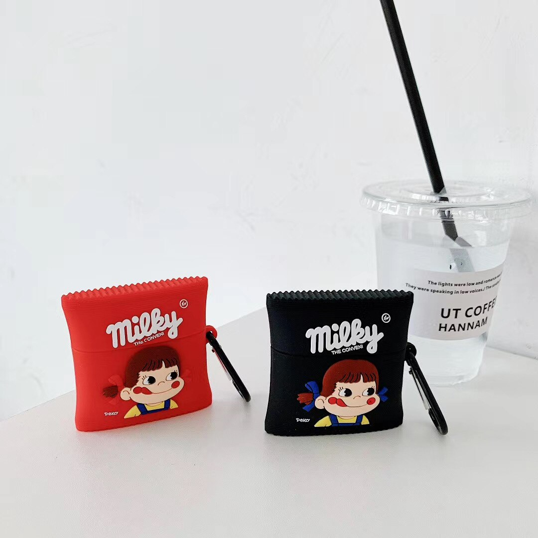 Milky Candy Packet Airpod Case Cover (2 Colours)