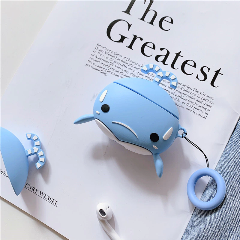 Baby Whale Airpod Case Cover