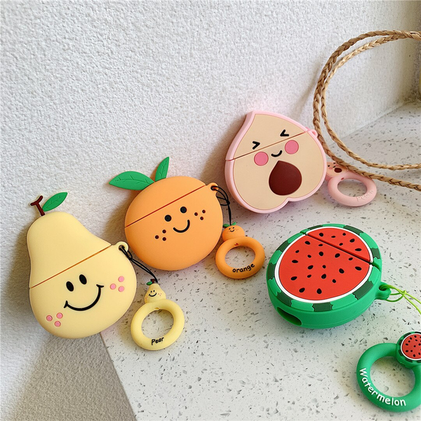 Cutie Fruit Airpod Case Cover (4 Designs) - Ice Cream Cake