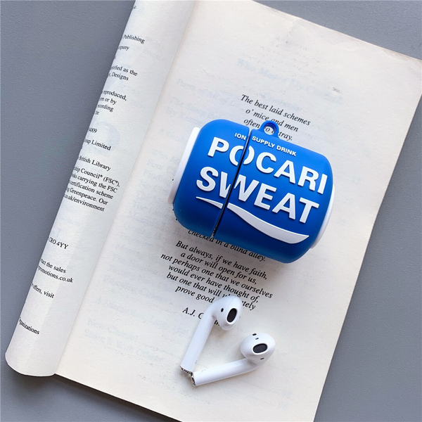 Pocari Sweat Can Airpod Case Cover