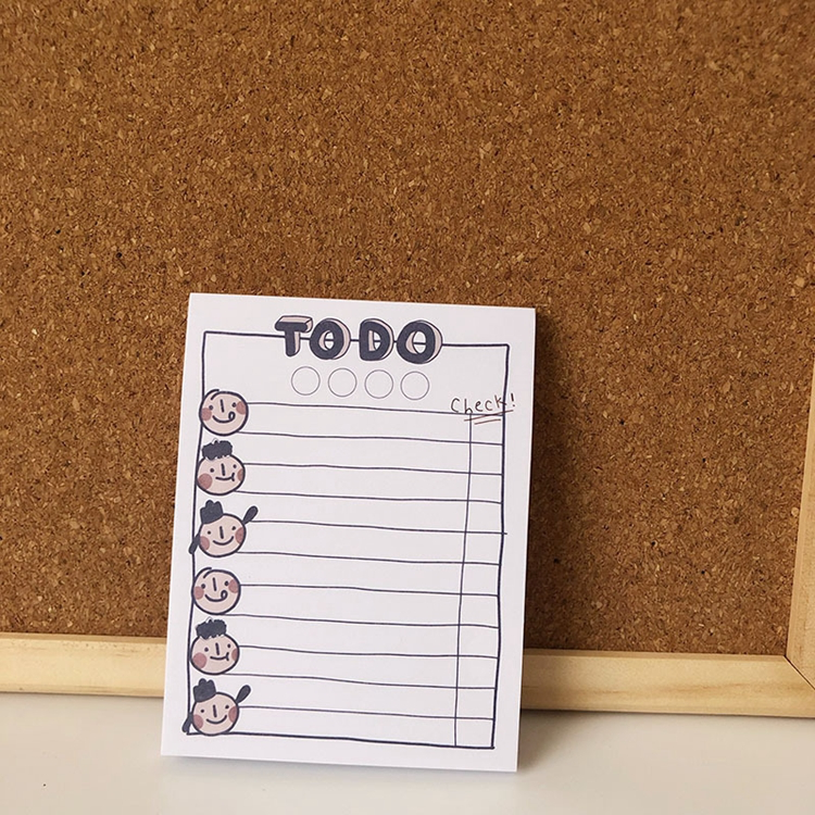 "Cute ""To Do"" List Notepads (2 Designs) - Ice Cream Cake"