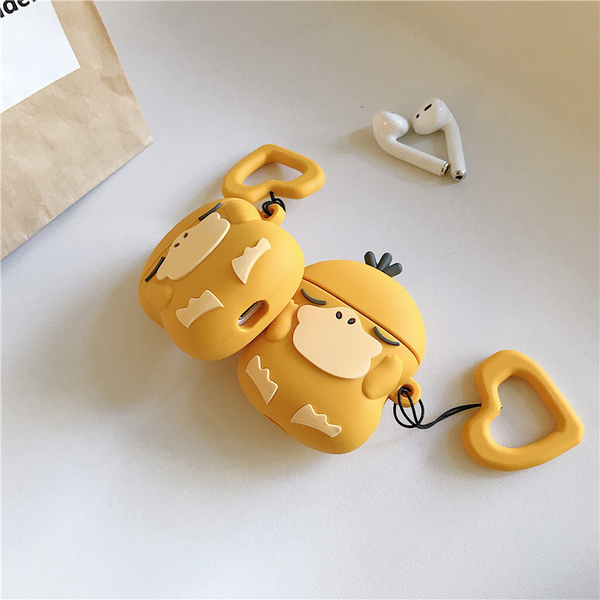 Sleepy Psyduck Airpod Case Cover - Ice Cream Cake