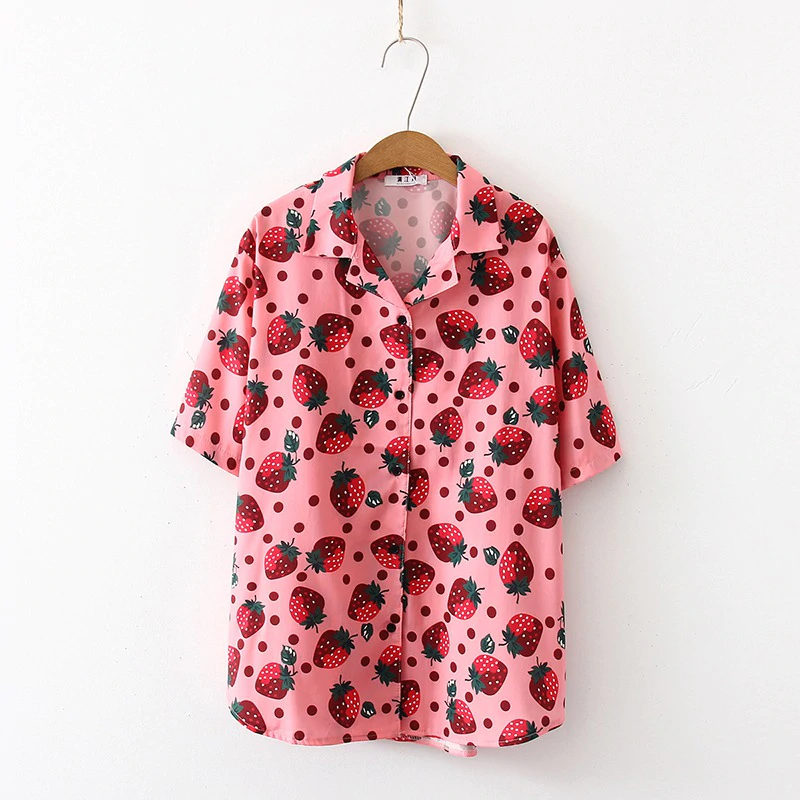 Strawberry Blouse