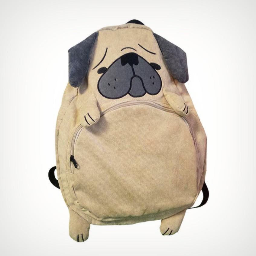 Pug Puppy Backpack - Ice Cream Cake
