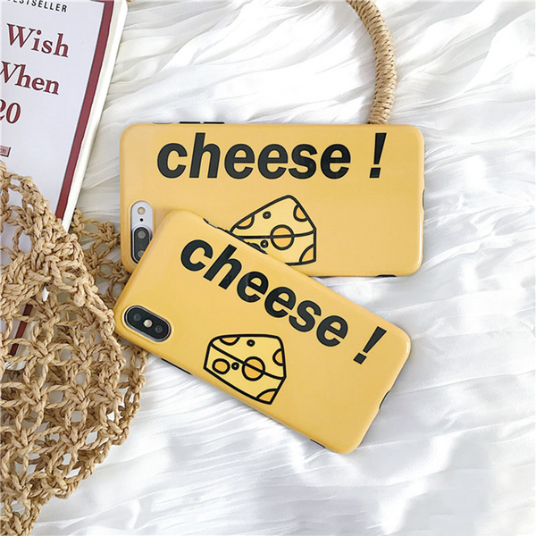 Glossy Cheese iPhone Case - Ice Cream Cake