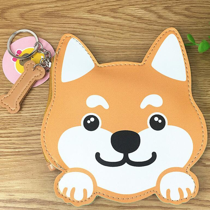 Shiba Inu Coin Purse - Ice Cream Cake
