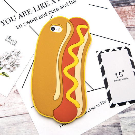 Hot Dog iPhone Case - Ice Cream Cake