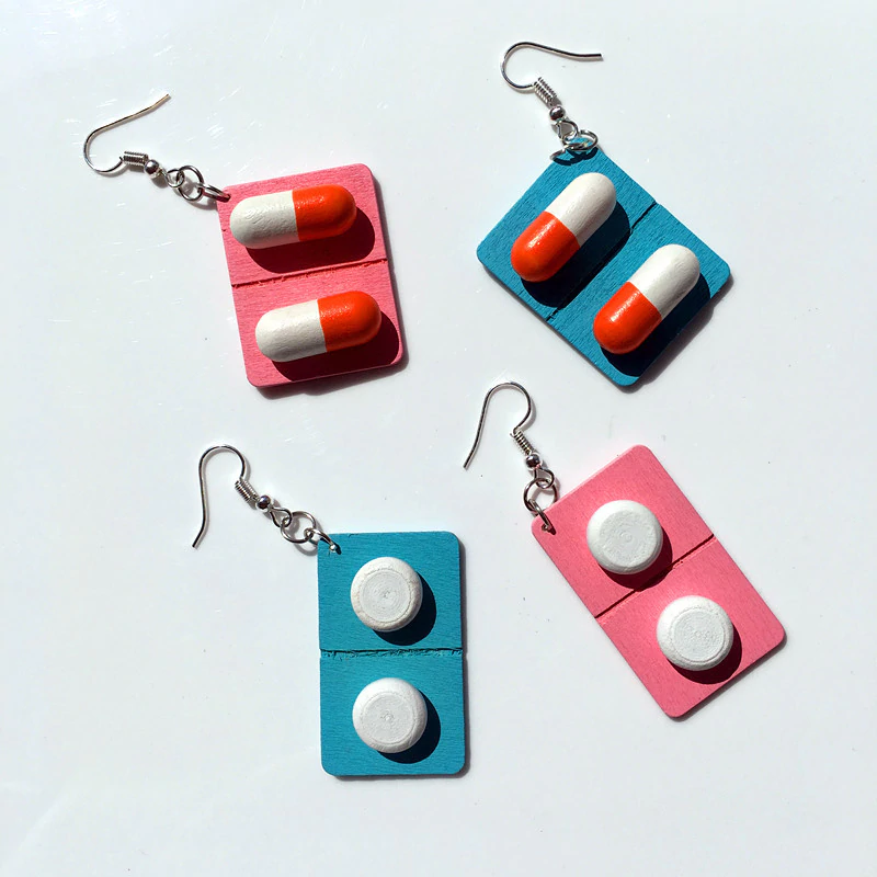 Medicine Earrings (4 Designs)