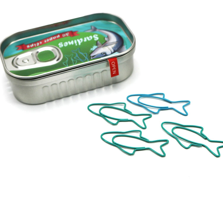 Sardine Tin Paperclips - Ice Cream Cake