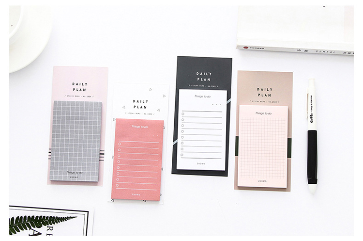 "Aesthetic Style  ""To Do"" Productivity Notepad (4 Designs) - Ice Cream Cake"