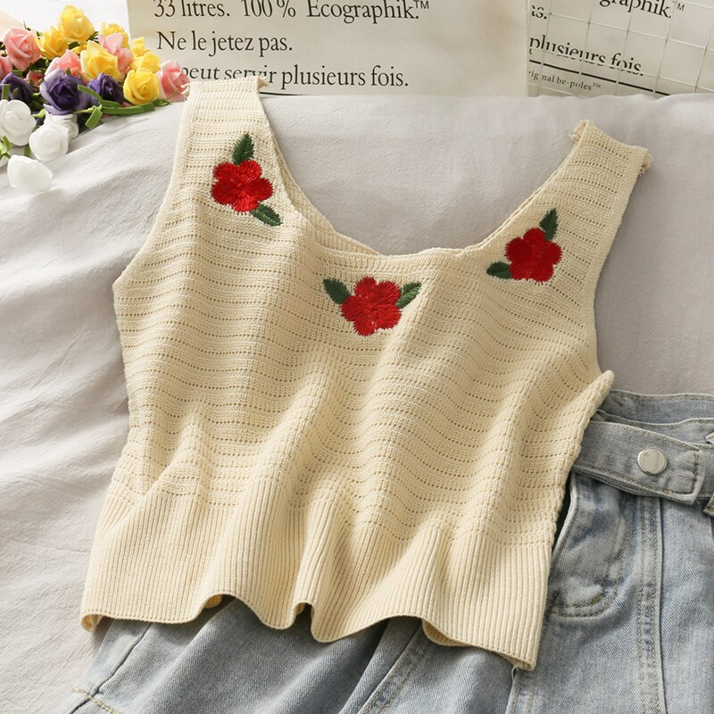 Knit Posey Tank Top