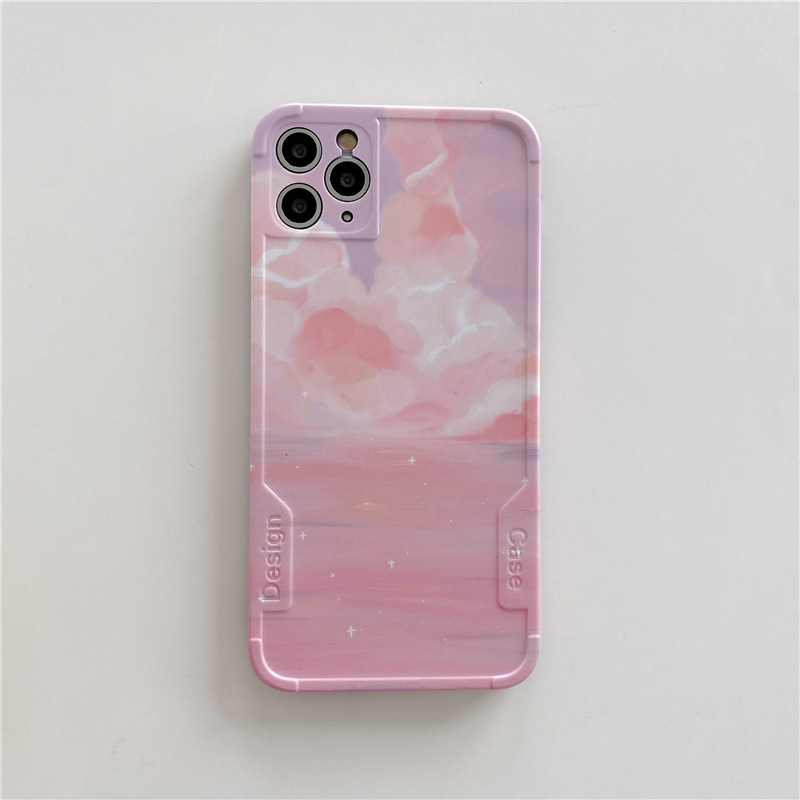 Pastel Pink Sky iPhone Case