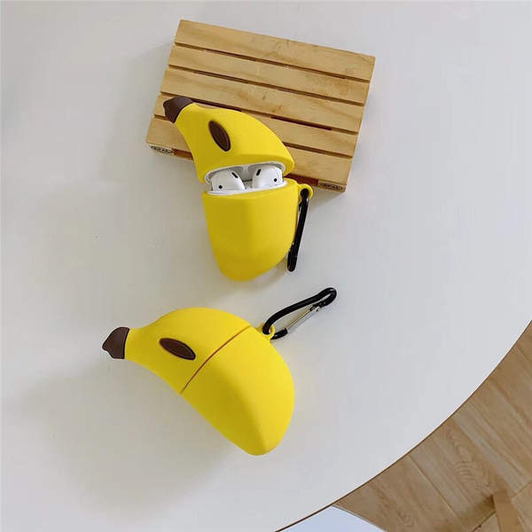 Banana Airpod Case Cover - Ice Cream Cake