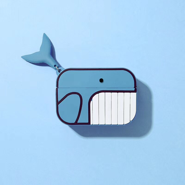 Whale Airpod Case Cover - Ice Cream Cake