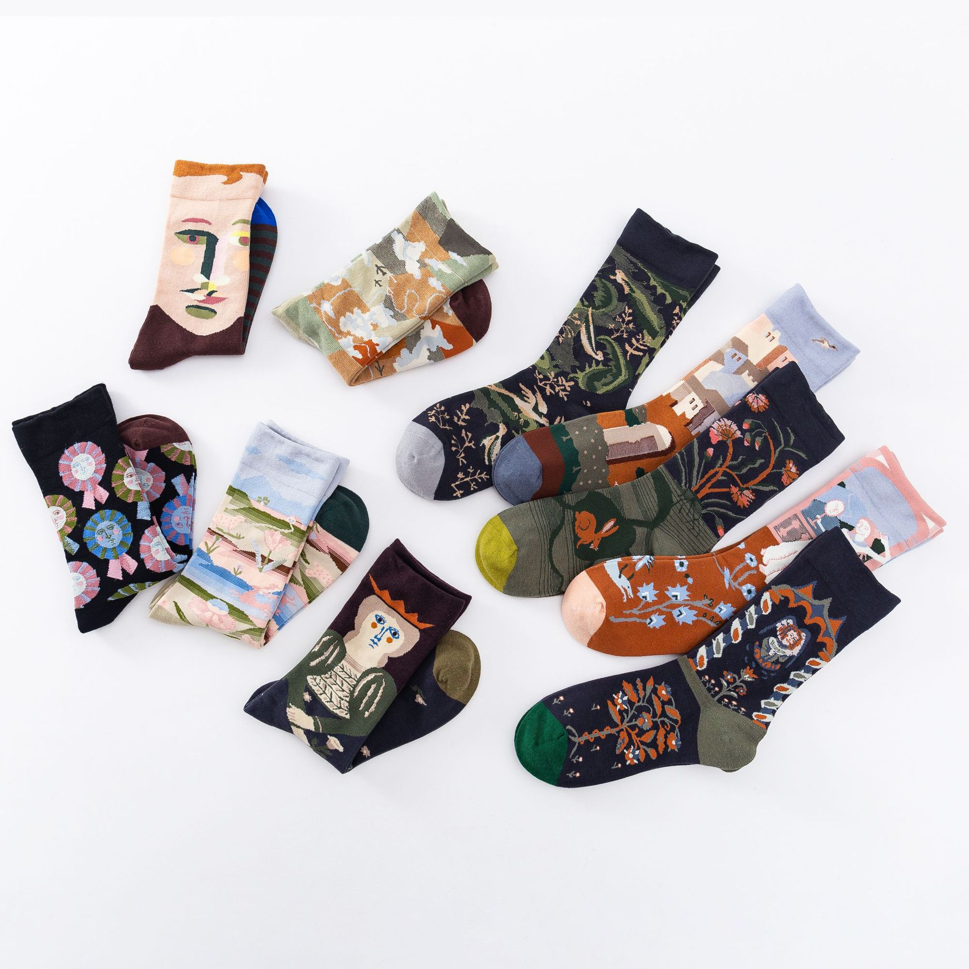 Dreamscape Ankle Socks (10 Designs)