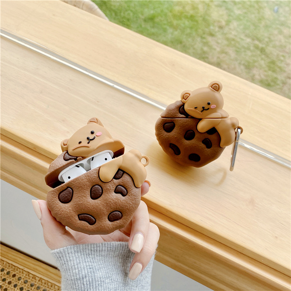 Cookie Bear Airpod Case Cover