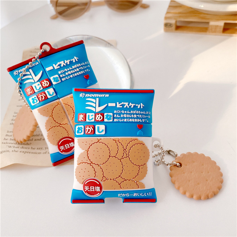 Japanese Biscuit Pack Airpod Case Cover