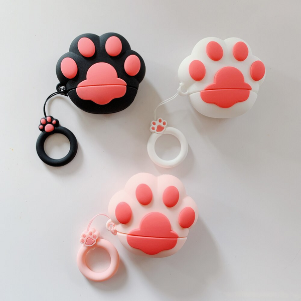 Cat Paw Airpod Case Cover (3 Colours)
