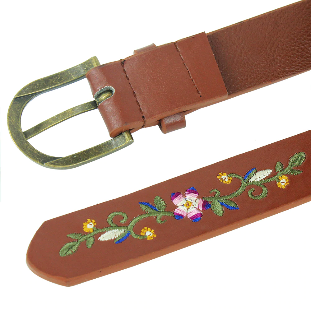 Dinah Floral Embroidery Belt (2 Designs)