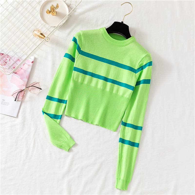 Patsy Neon Striped Tee (4 Colours) - Ice Cream Cake