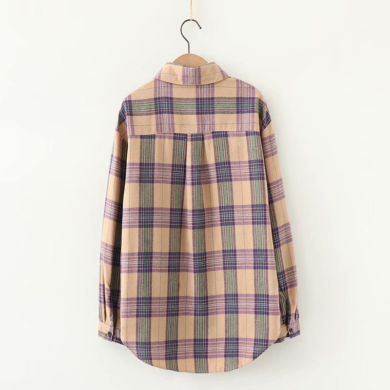Sunday Check Blouse (6 Colours)