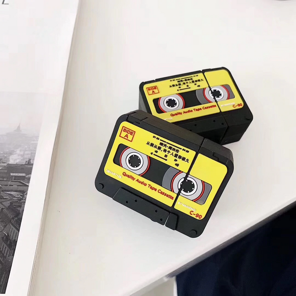 Cassette Tape Airpod Case Cover