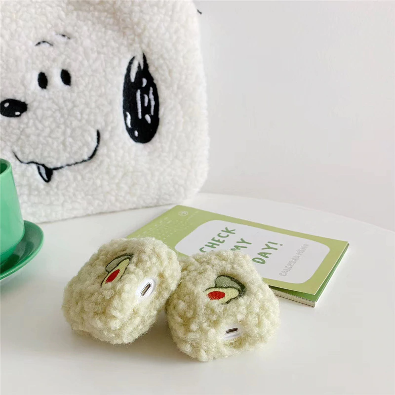 Teddy Avocado Airpod Case Cover