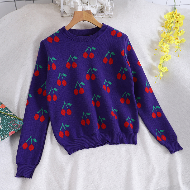 Cherry Sweater (3 Colours)