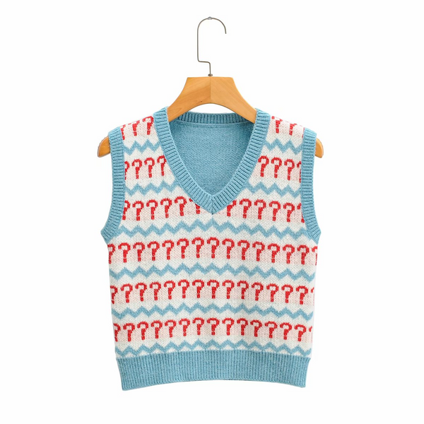Pop Quiz Sweater Vest