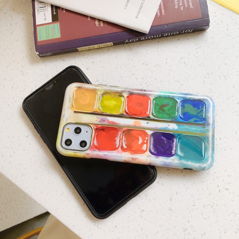 Paint Palette iPhone Case