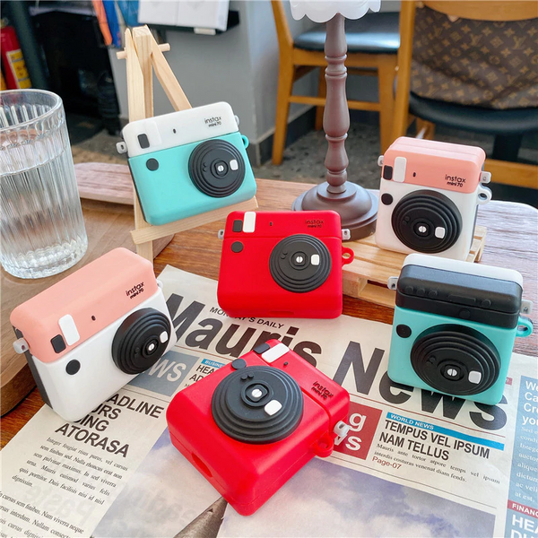 Instant Camera Airpod Case Cover (3 Colours)