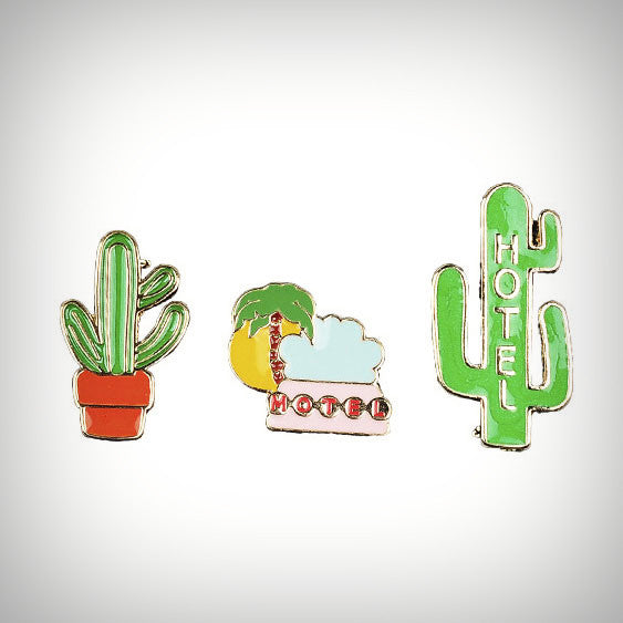 Cactus Club Enamel Pins - Ice Cream Cake