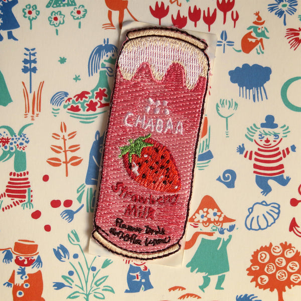 Strawberry Soda Sticker Patch