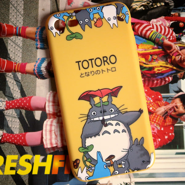 Yellow Totoro iPhone Case