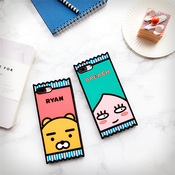 Kakao Friends Candy Packet iPhone Case (2 designs) - Ice Cream Cake