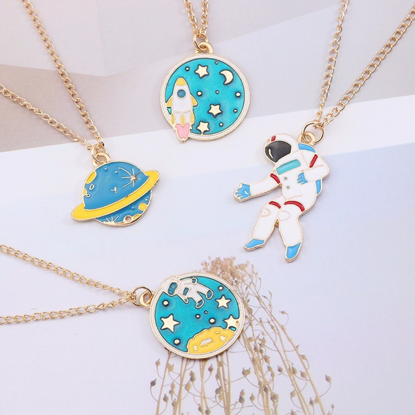 Space Travel Necklaces (4 Designs) - Ice Cream Cake