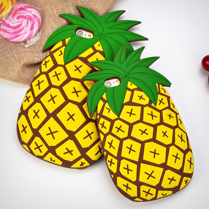 3D Pineapple iPhone Case - Ice Cream Cake