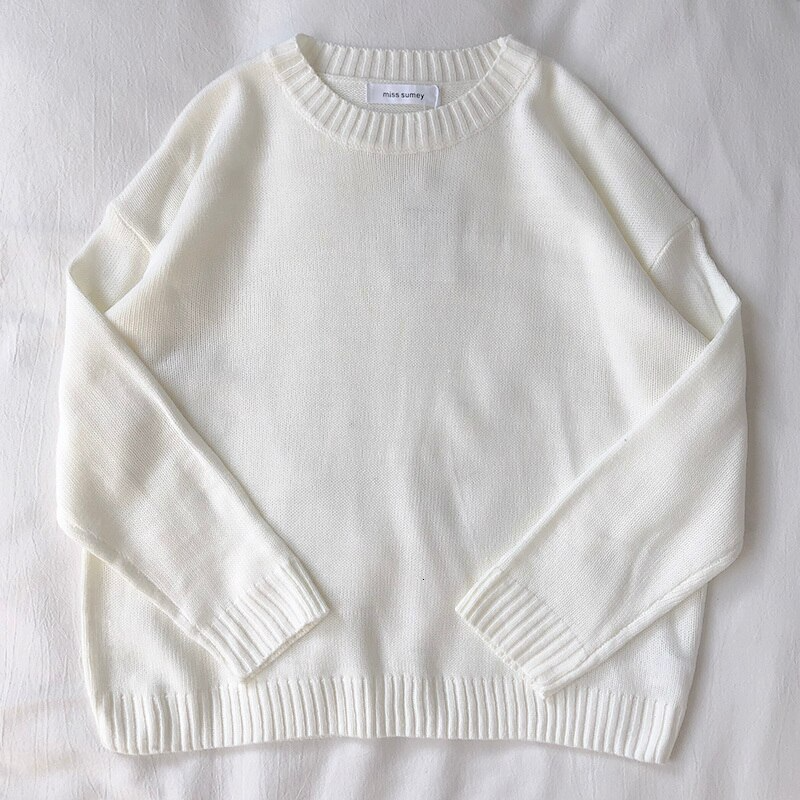 Basic Multicolour Knit Jumper (15 colours)
